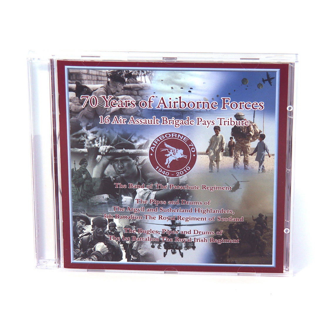 CD - 70 Years Of Airborne Forces, 16 Air Assault Brigade Pays Tribute
