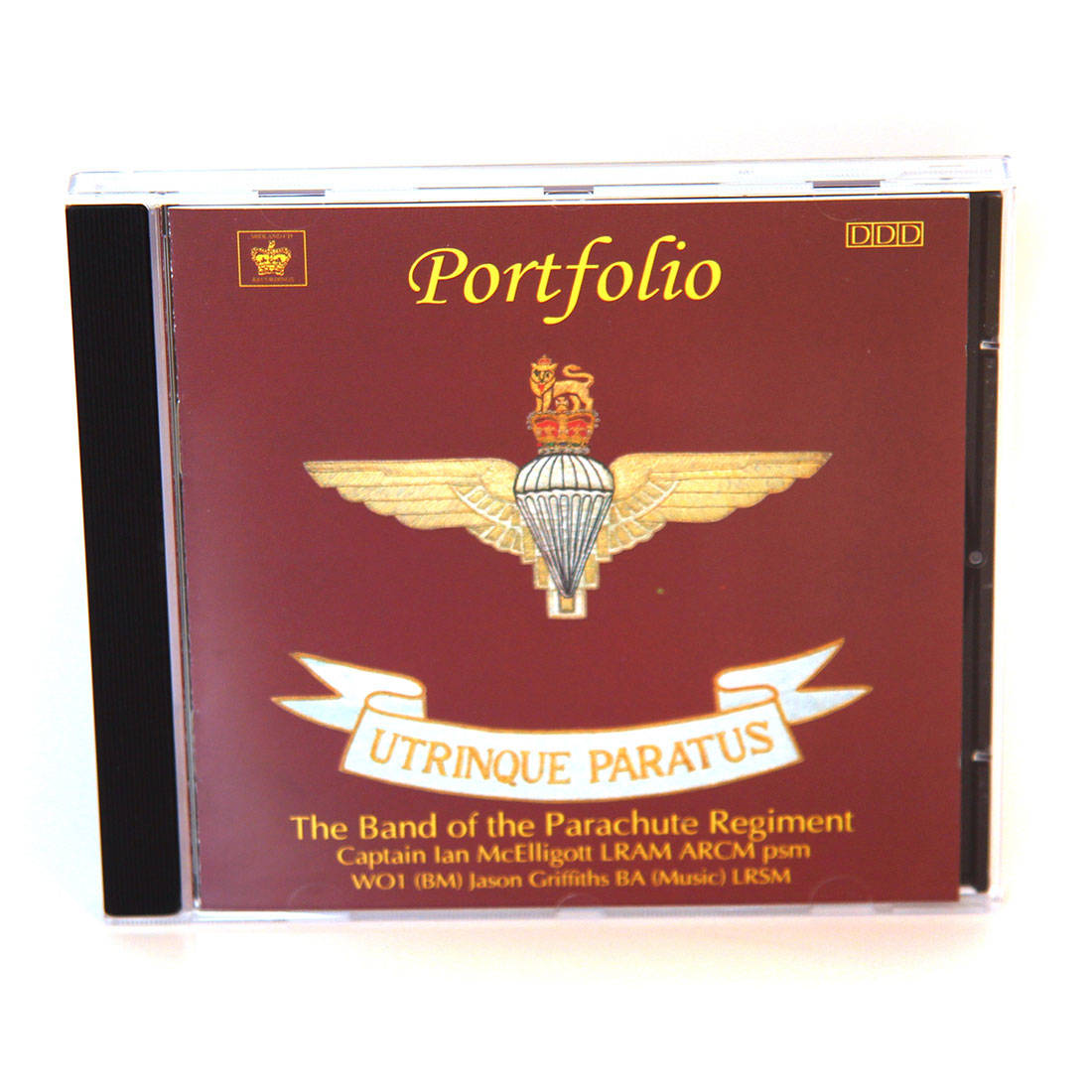 CD - Portfolio by The Band Of The Parachute Regiment