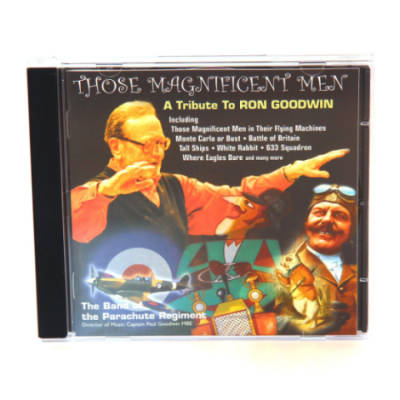 CD - Those Magnificent Men by The Band Of The Parachute Regiment