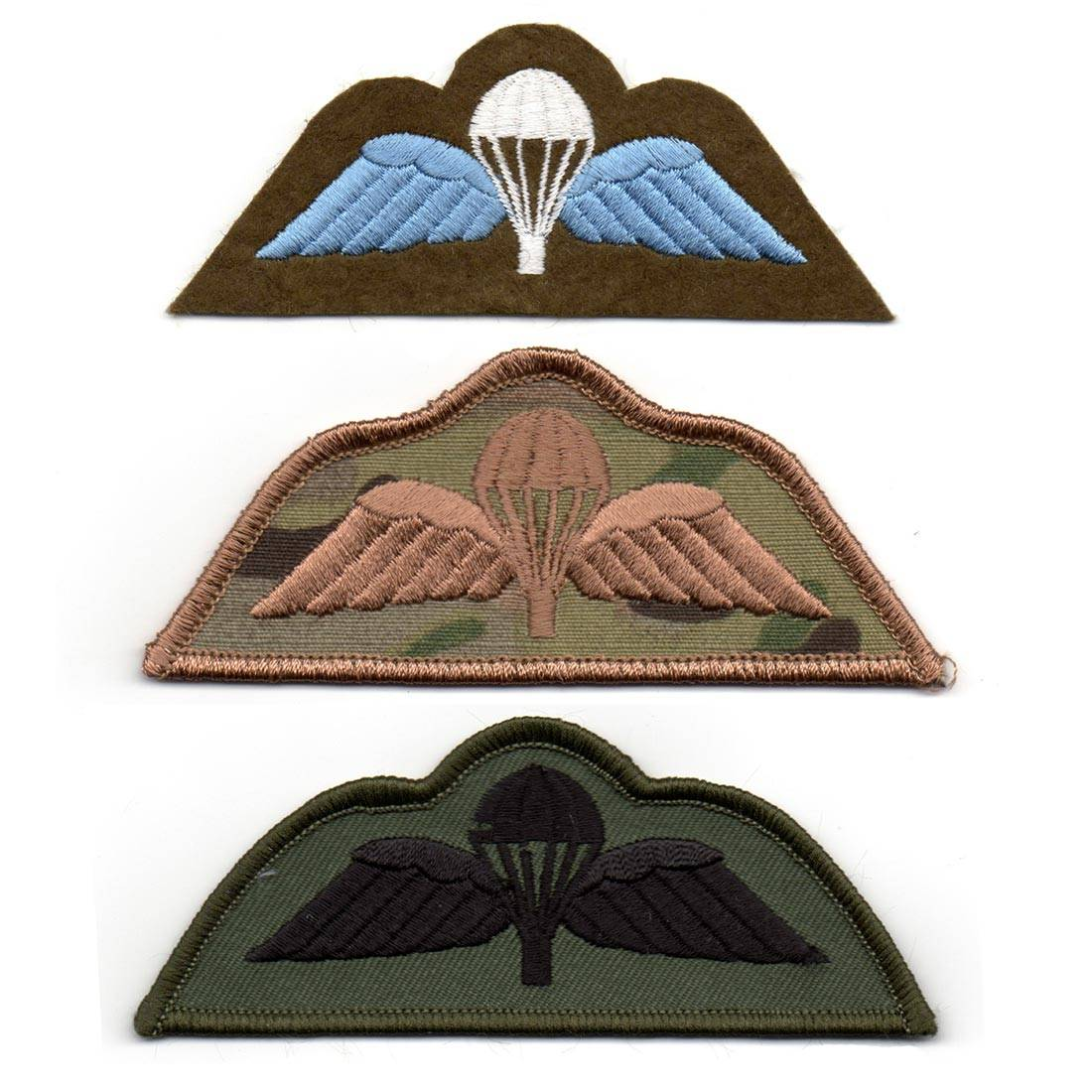 Cloth Jump Wings Patch