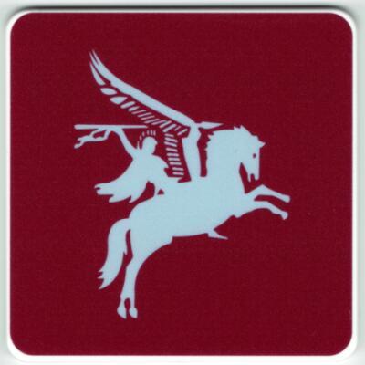 Maroon Coasters - Pegasus