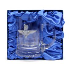 Crystal Beer Mug, Engraved