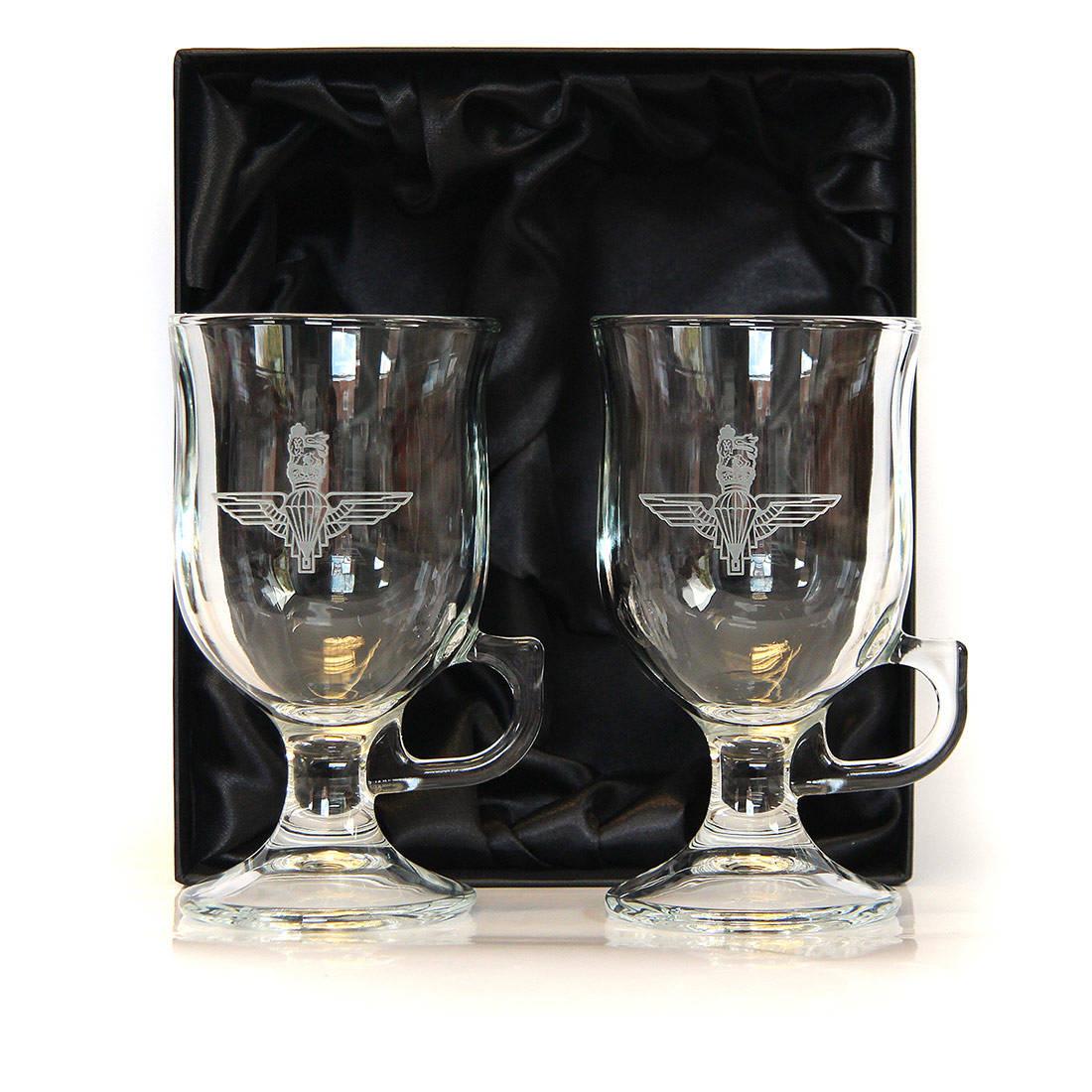 Crystal Coffee Glasses (Pair)