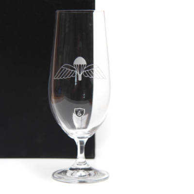 Crystal Lager Glass, Jump Wings