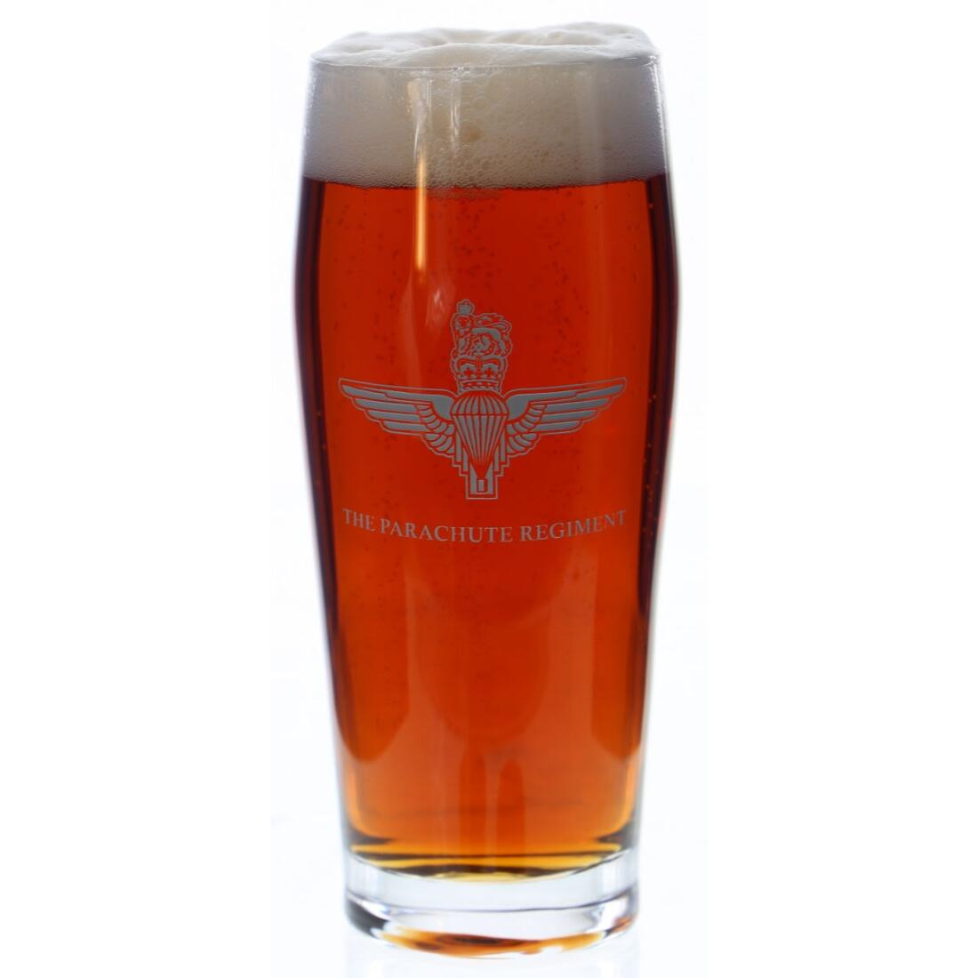 Pint Beer/Lager Glass Engraved