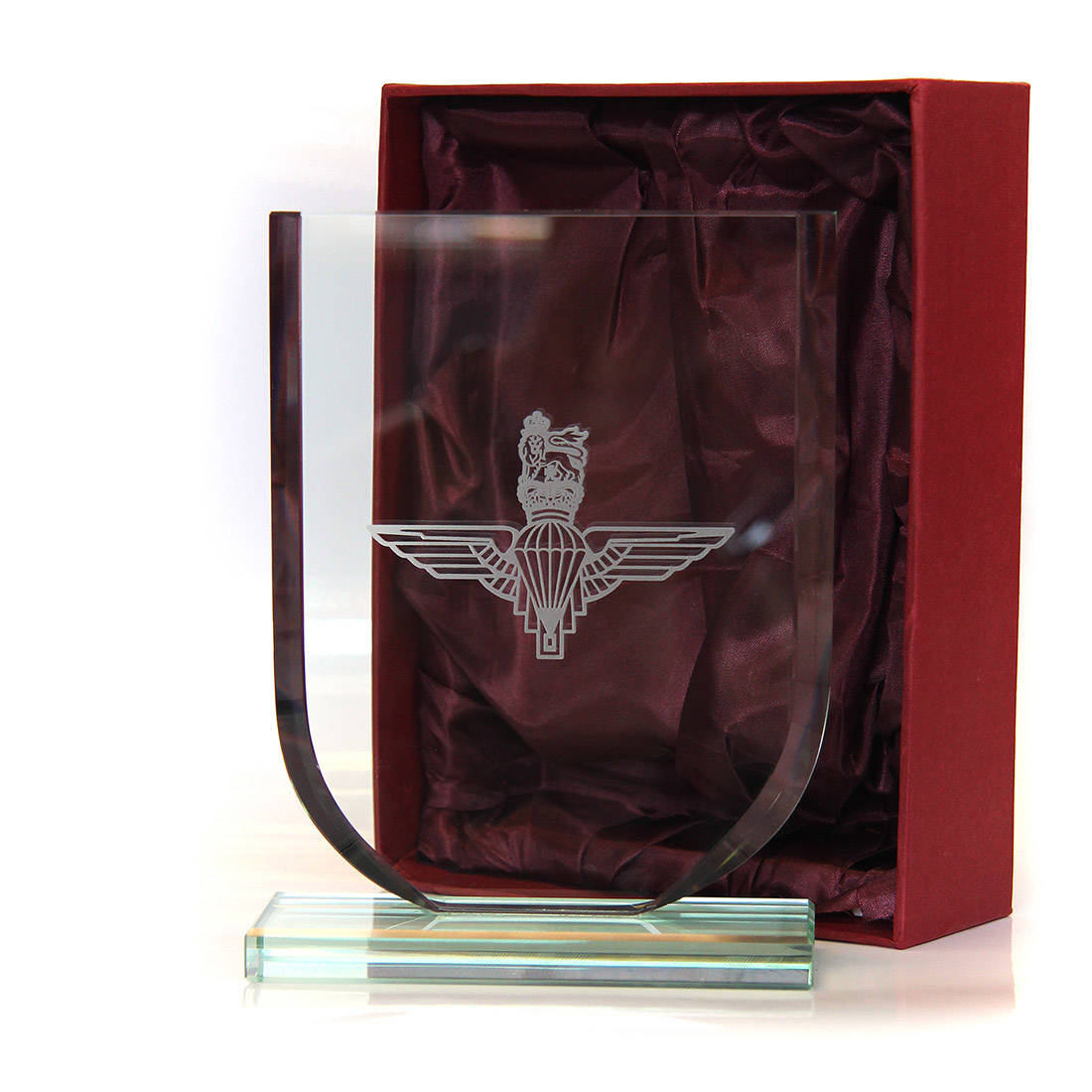 88ad05699819d Crystal Shield (6 inch) - Parachute Regiment - The Airborne Shop