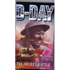 DVD - D-Day The Secret Battle