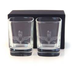 Para Dram Glasses (Pair) In Gift Box