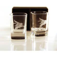 Pegasus Dram Glasses (Pair) Para In Gift Box