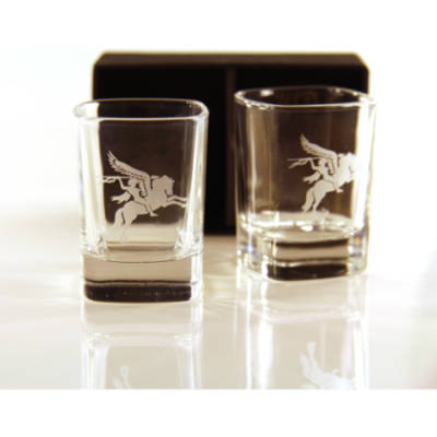 Pegasus Dram Glasses (Pair) Para In Gift Box