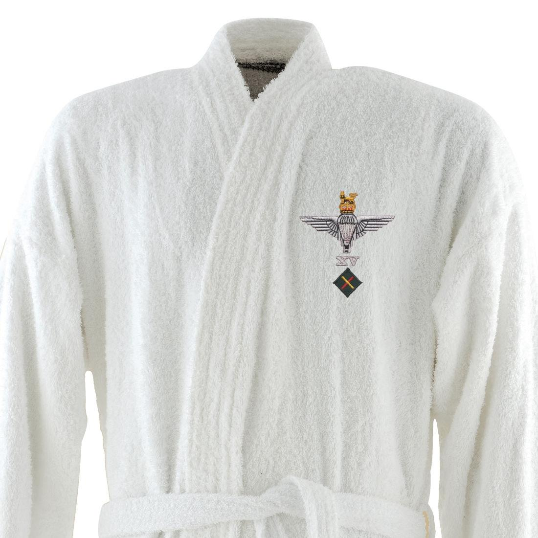 *CLEARANCE* Dressing Gown, S/M, White, 15 Para