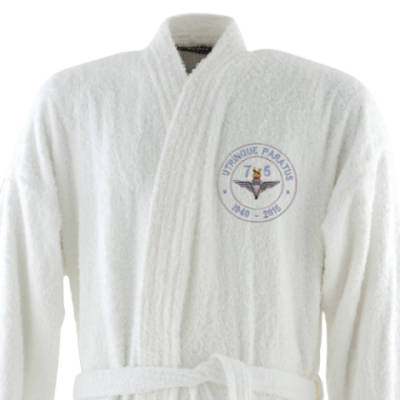 Dressing Gown - White - Airborne 75 (Para)