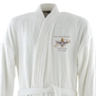 Dressing Gown - White - Falklands 30th