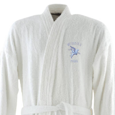 Dressing Gown - White - My Dad Is A Para (Pegasus)