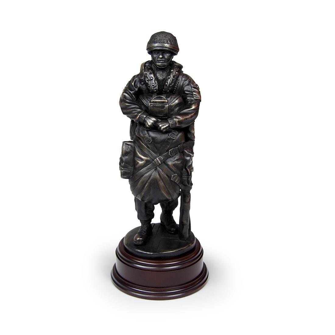 Drop Order PX4 Para Statue - Webbing SA80 Slung (Resin Bronze)
