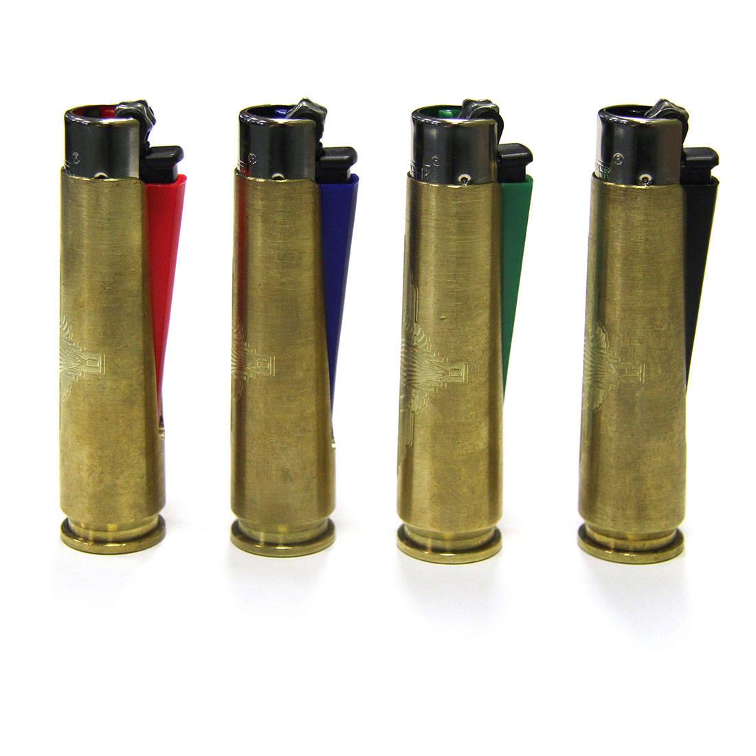 .50 Cal Engraved Clipper Lighter