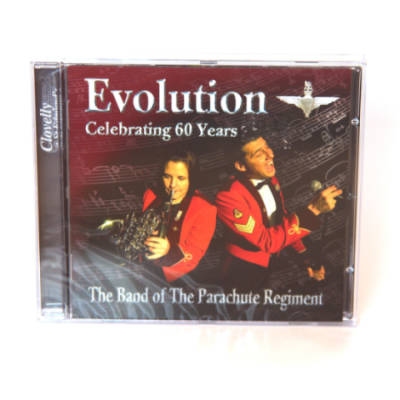 CD - Evolution: Celebratating 60 Years by The Band Of The Parachute Regiment