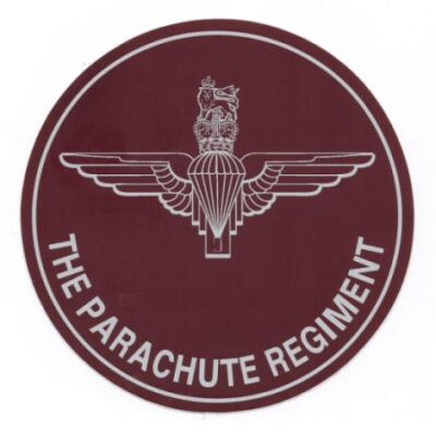 Parachute Regiment Exterior Car Sticker
