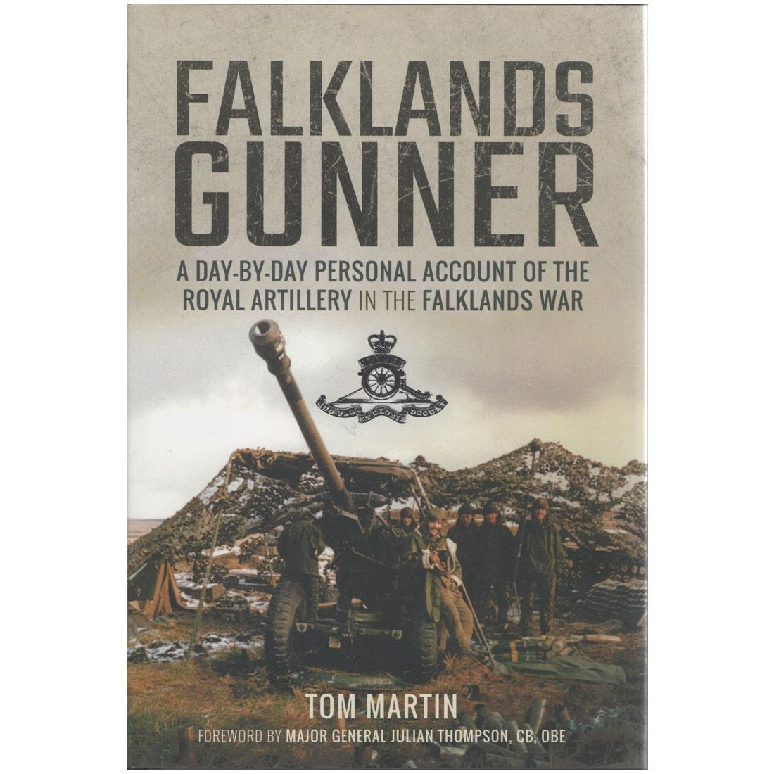 Falklands Gunner by Tom Martin (Book)