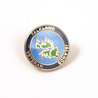 Falklands Island Veteran Lapel Badge