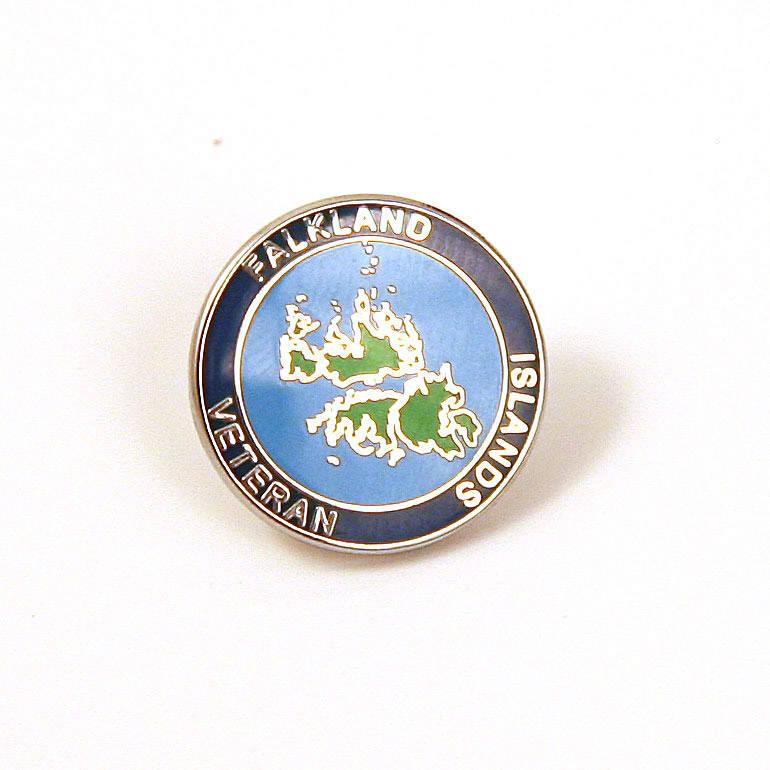 Falklands Island Veteran Lapel Badge