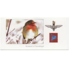 Christmas Card - Festive Scene (Parachute Regiment and Airborne Forces)