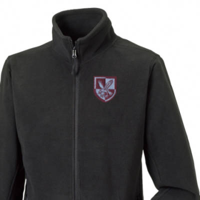 Fleece Jacket - Black - 16 Air Assault