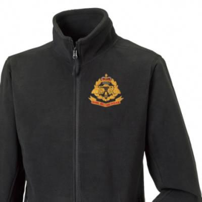 Fleece Jacket - Black - Airborne RMP