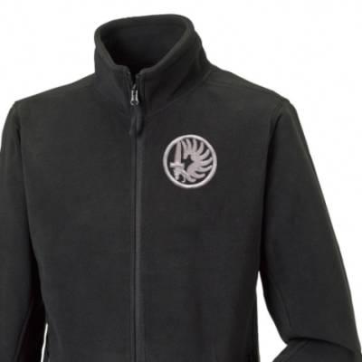 Fleece Jacket - Black - Foreign Legion Para