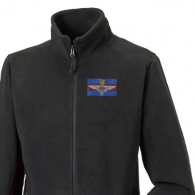 Fleece Jacket - Black - Para Guards