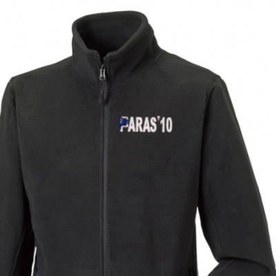 Fleece Jacket - Black - Paras 10