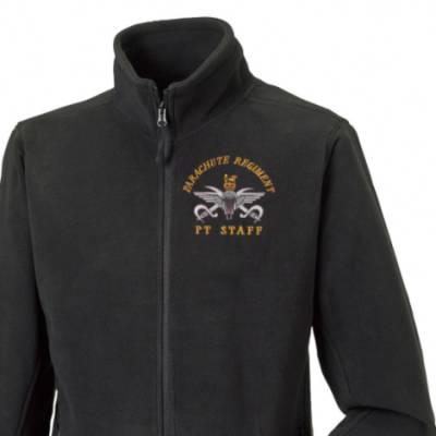 Fleece Jacket - Black - PTI Instructor