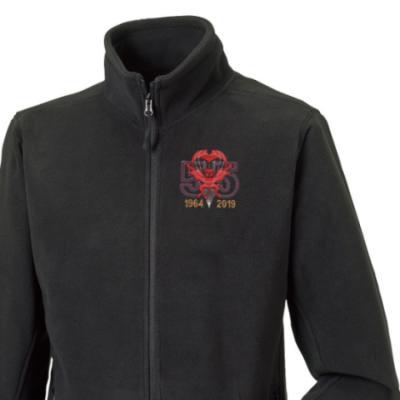 Fleece Jacket - Black - Red Devils 55th