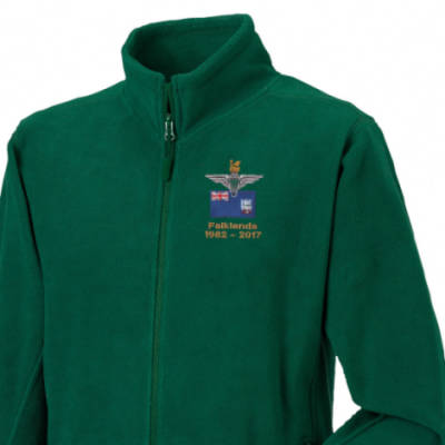 Fleece Jacket - Green - Falklands 35th