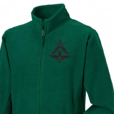 Fleece Jacket - Green - Snipers