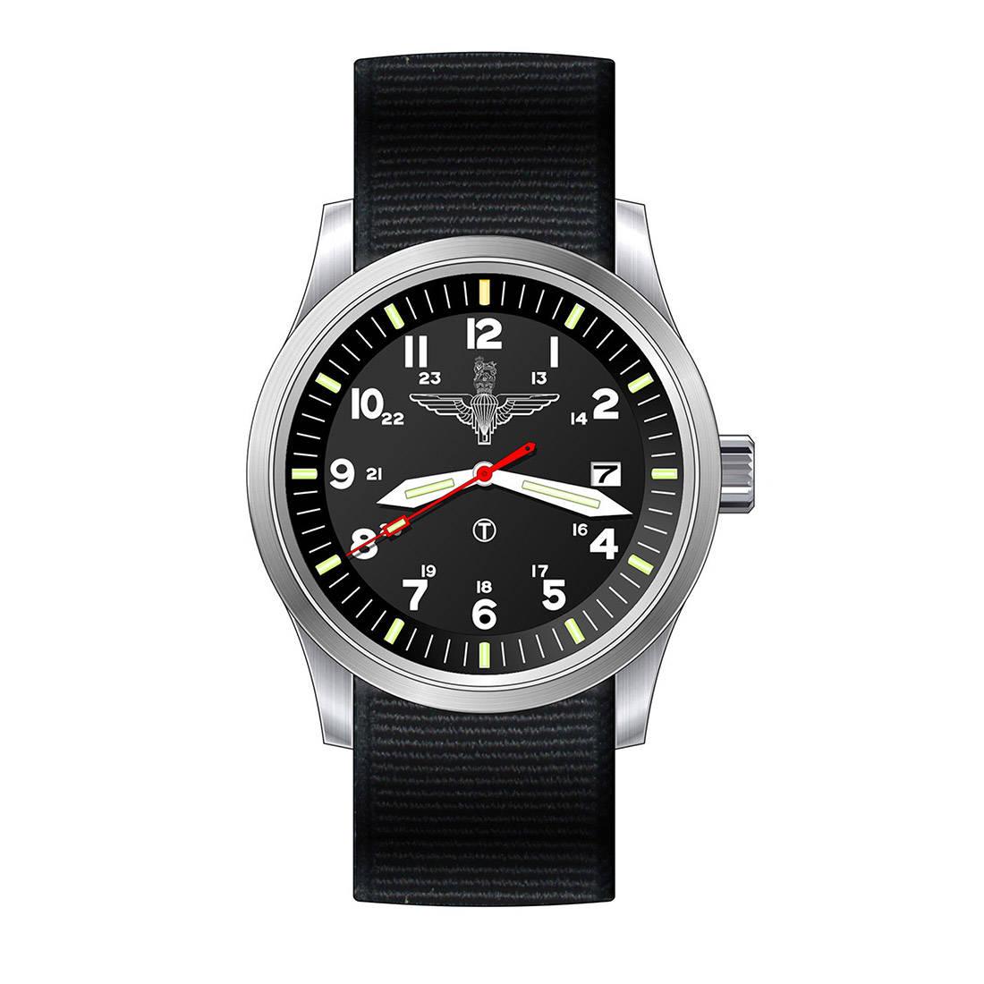 G10 Regimental Watch Stainless Steel - Para Edition (Traser)