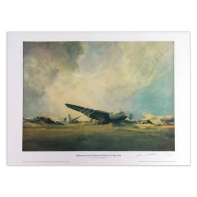 Gliders At Caen by Frank Wooton (Print)