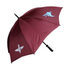 Golf Umbrella - Maroon with Para and Pegasus