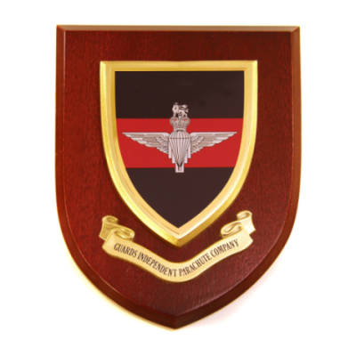 Plaque - Guards Independant Parachute Coy.