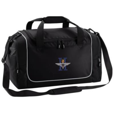 *CLEARANCE* Gym Bag, Black, 2 Para (Battalion Numerals) (Clothing)