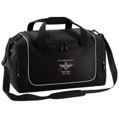 Gym Bag - Black - Falklands 30th