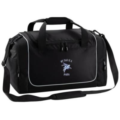 Gym Bag - Black - My Dad Is A Para (Pegasus)