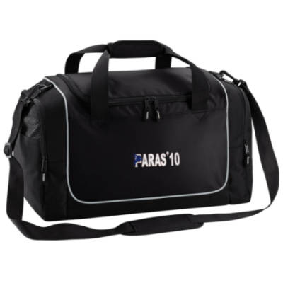 Gym Bag - Black - Paras 10