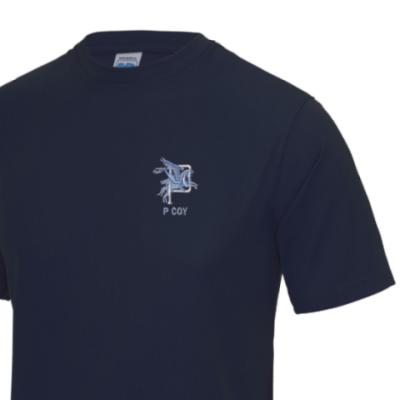 *CLEARANCE* Gym/Training T-Shirt, Large, Navy, P Coy