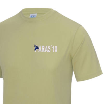 Gym/Training T-Shirt - Sand - Paras 10