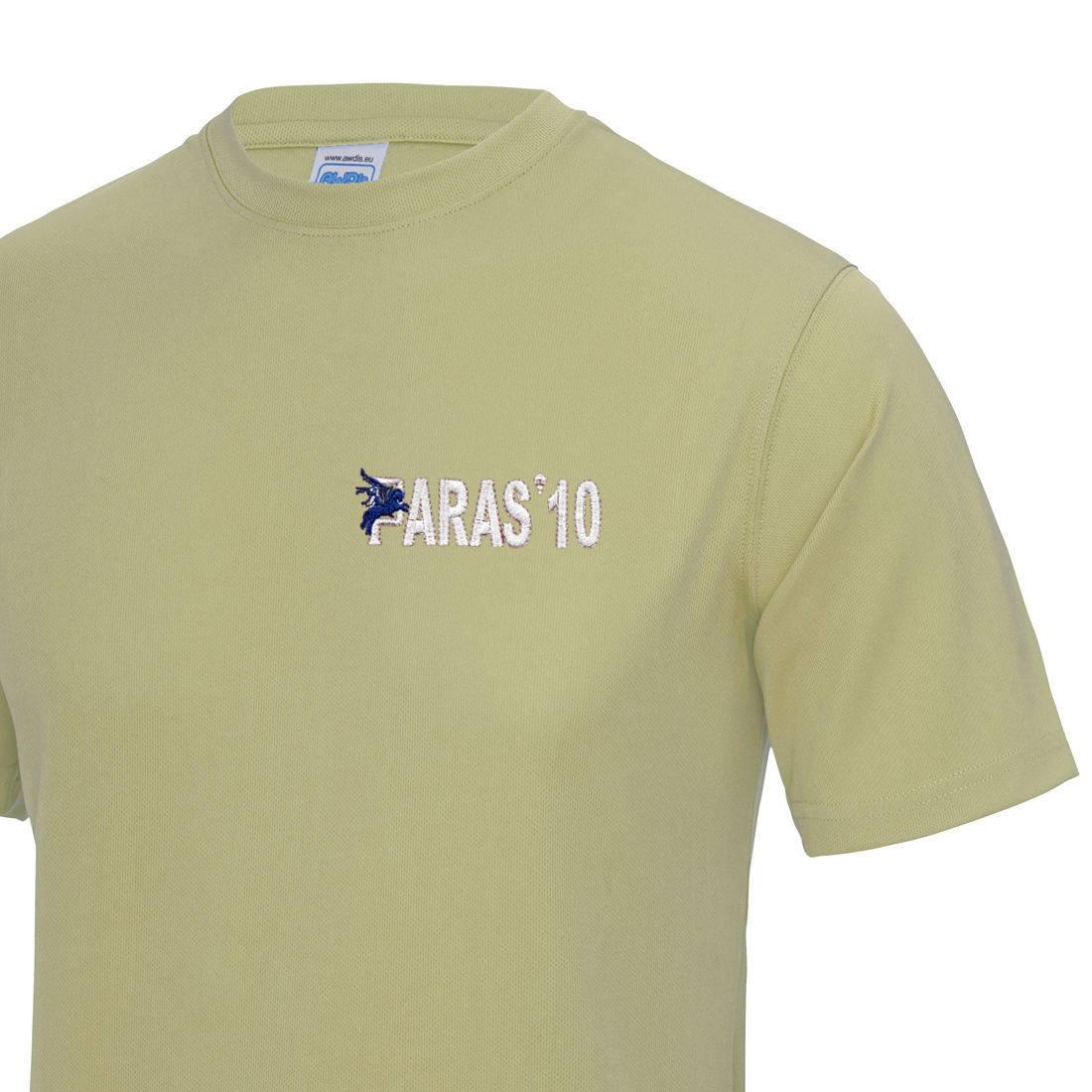 Gym/Training T-Shirt - Sand - Paras 10