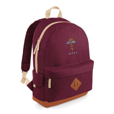 Heritage Backpack - Maroon - 23 PFA
