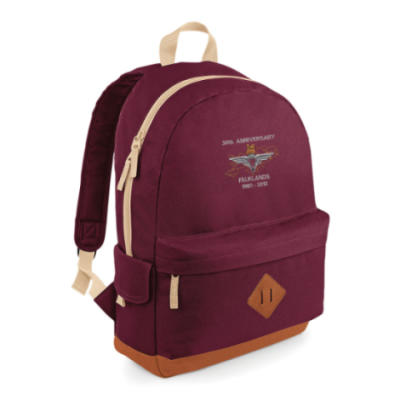Heritage Backpack - Maroon - Falklands 30th