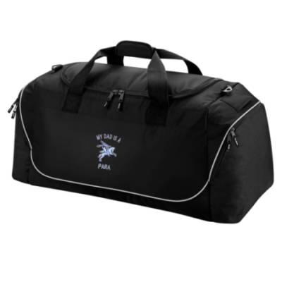 Holdall Bag - Black - My Dad Is A Para (Pegasus)