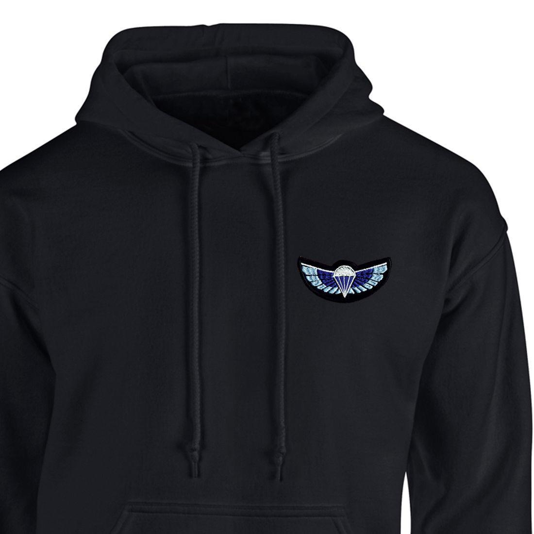 Hoody - Black - Sabre Wings